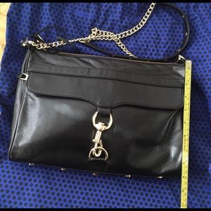 Rebecca Minkoff Black Crossbody MAC Daddy